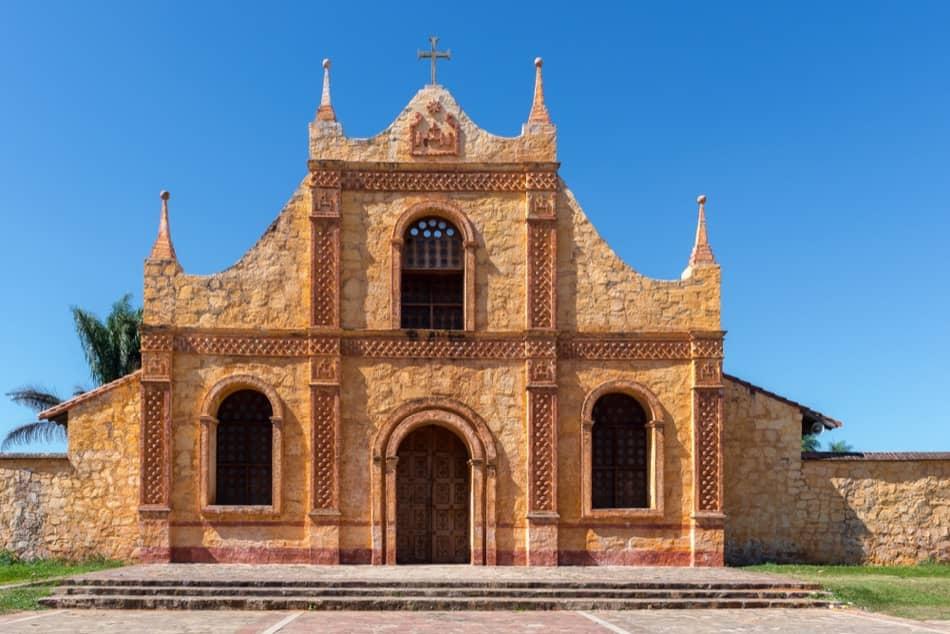 Jesuit Mission Church in San Jose de Chiquitos, Santa Cruz, Bolivia