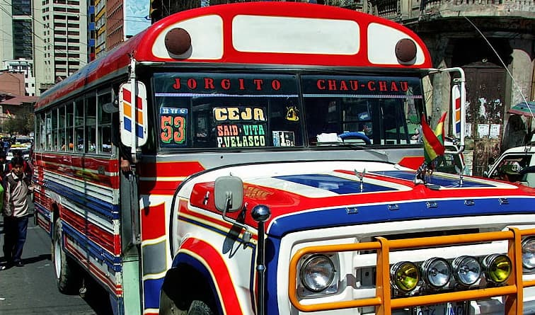 How To Get Around on Public Transport in La Paz, Bolivia
