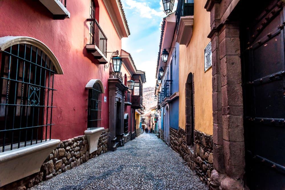 La Paz, Bolivia Neighborhoods