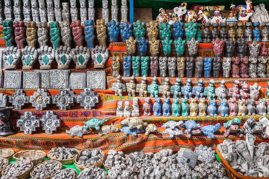 The Witches' Market - La Paz, Bolivia